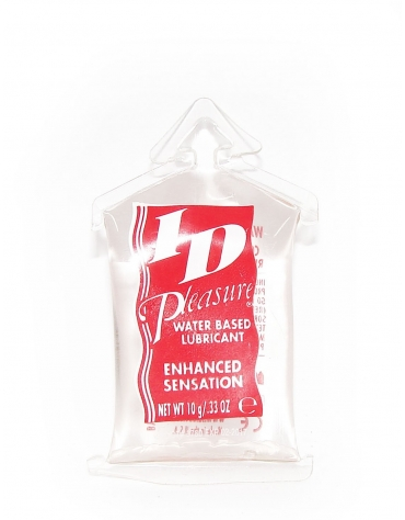 ID PLEASURE NET WT 10 G / .33 OZ
