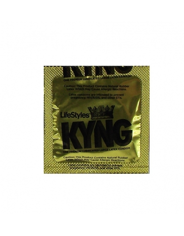 LIFESTYLES KYNG LARGE LATEX CONDOM