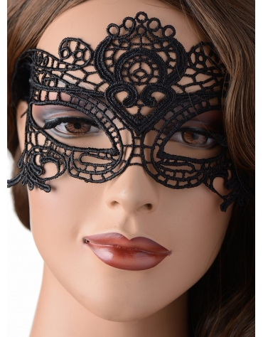 XR THE ENCHANTED BLACK LACE MASK