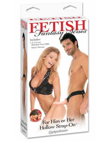FETISH FANTASY SERIES HOLLOW STRAP-ON FL
