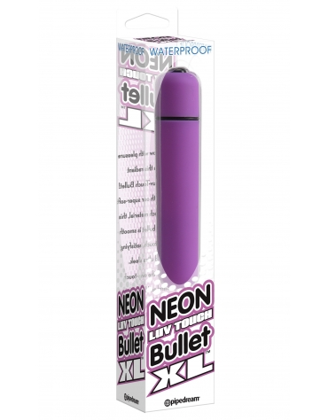 WATERPROOF NEON LUV TOUCH BULLET XL PUR