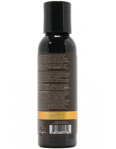 EARTHLY BODY MASSAGE LOTION DREAMSICLE 2 FL OZ 60 ML