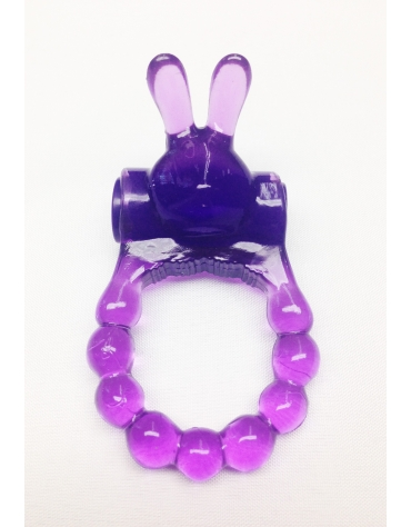 TOP CAT VIBRATING BUNNY RING PUR
